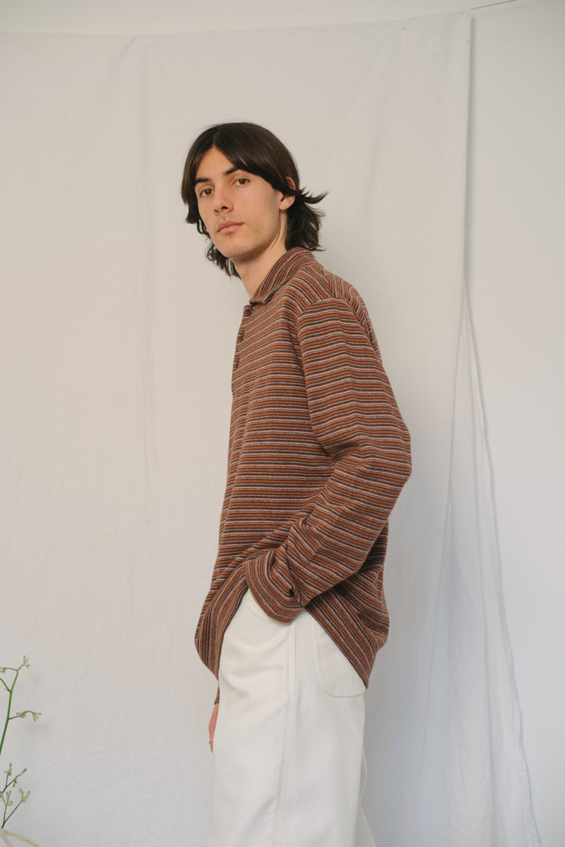 Missoni Striped Cotton Sweater - Studio Travel