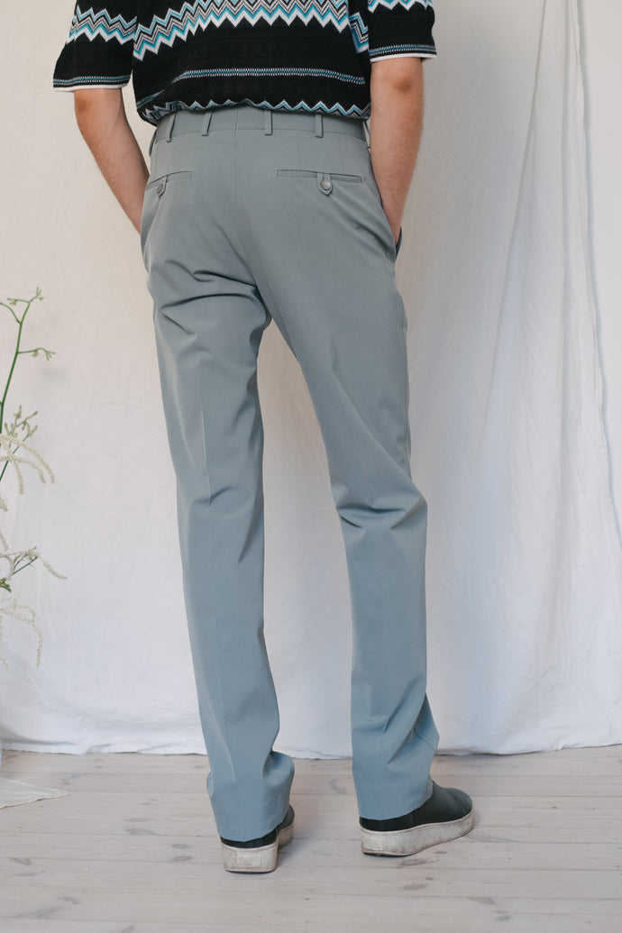 Prada Mid Blue Pants - Studio Travel