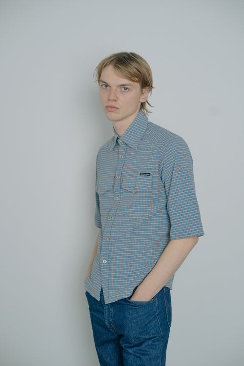 D&G Checked Cotton Shirt - Studio Travel
