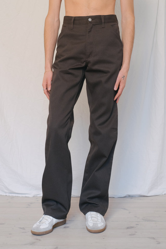 Carhartt Brown Cotton Pants - Studio Travel