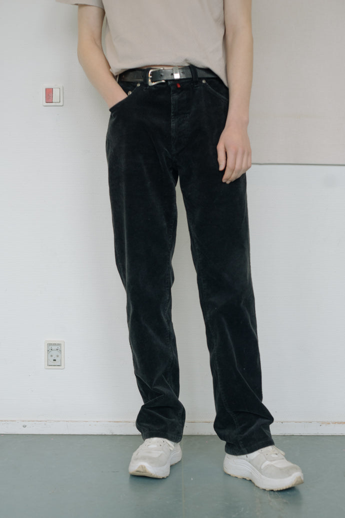 Pierre Cardin Basic Corduroy Trousers - Studio Travel