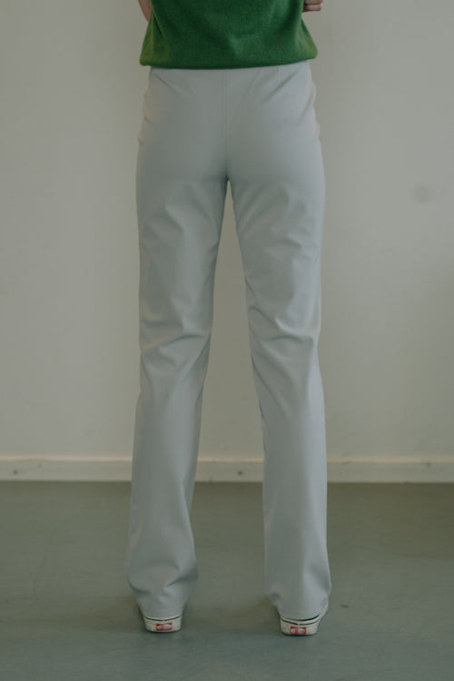 Versace Mid Blue Stretch Pants - Studio Travel