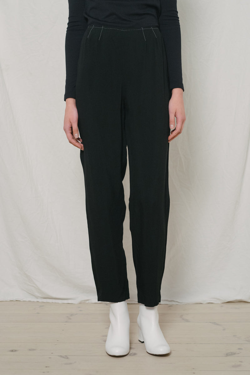 Iceberg Evening Black Pants - Studio Travel