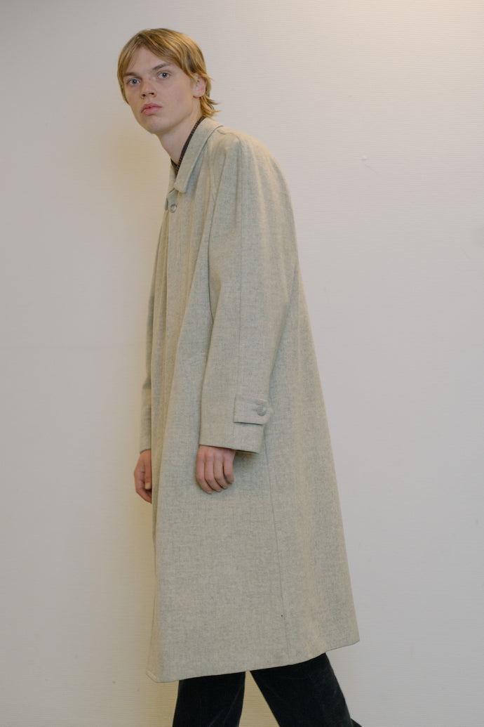 Trussardi Wool Classic Coat - Studio Travel