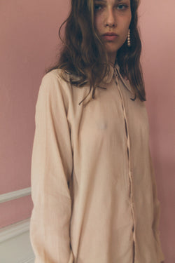Miu Miu Long Sleeve Cotton Shirt - Studio Travel