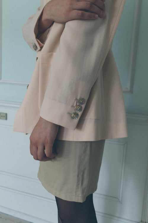 Fendi Pink Wool Blazer - Studio Travel