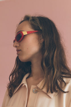 Chanel Red Sunglasses - Studio Travel