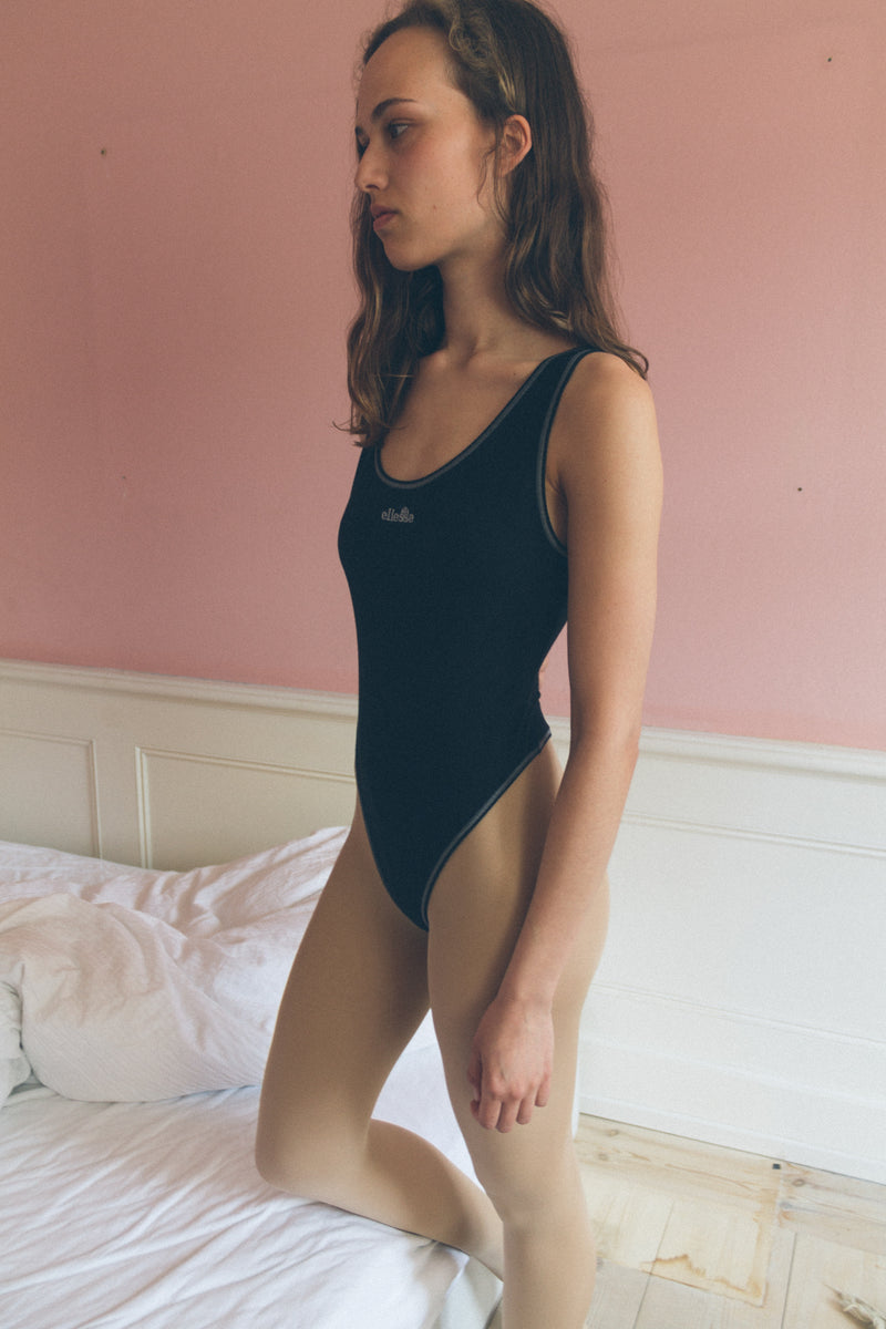 Ellesse Cotton Tank Thong Bodysuit - Studio Travel