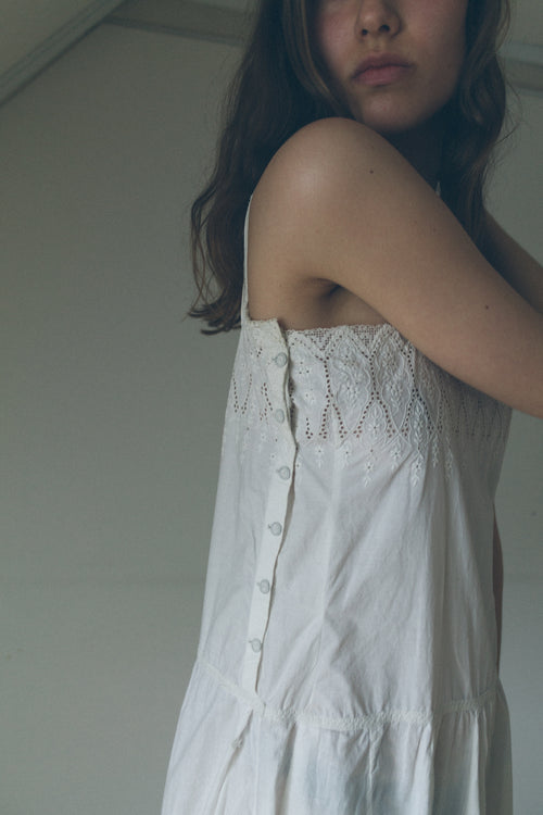 Vintage Handmade Embroidered Dress - Studio Travel