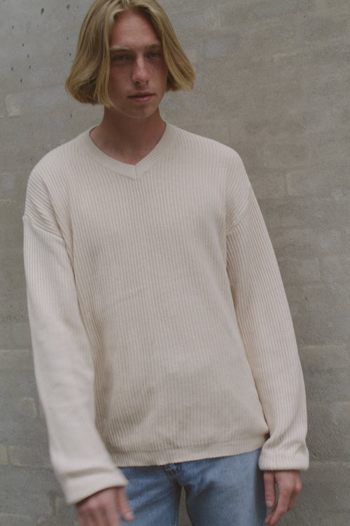 Armani Jeans Cotton V-Neck Sweater