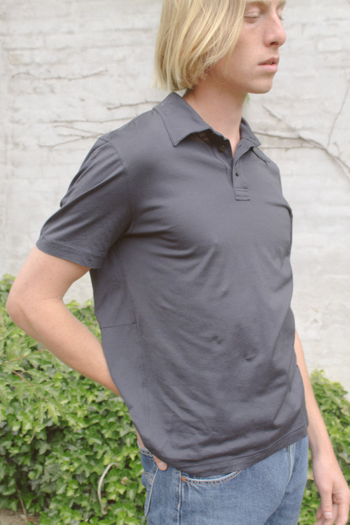 Hermès Navy Polo T-Shirt