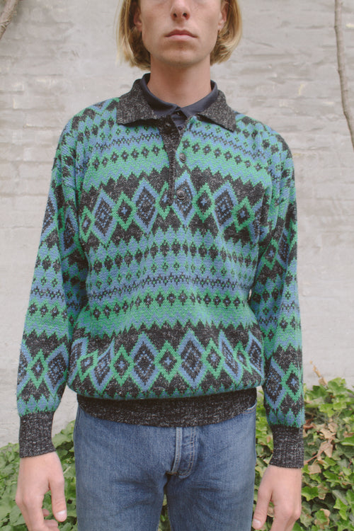 Missoni Sport Pattern Knit Sweater