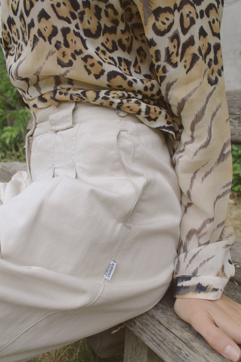 Missoni Sport Beige Safari Shorts