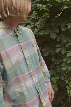 Polo Ralph Lauren Green Check Shirt