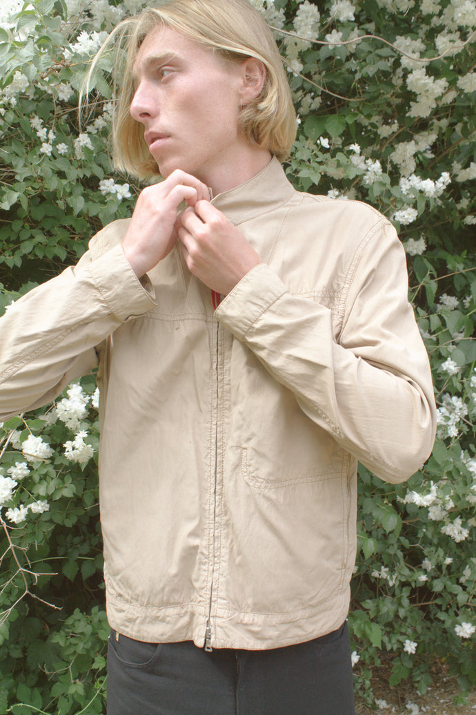 Prada Beige Windbreaker Jacket
