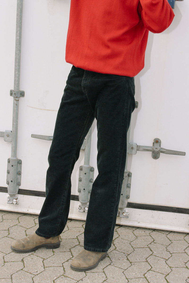 Levi's Dark Navy Corduroy trousers