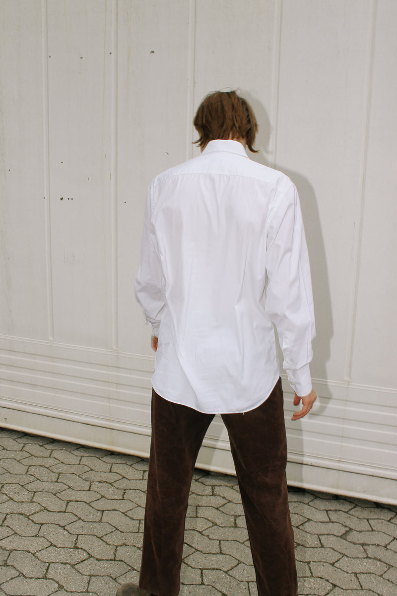 Fendi formal white shirt