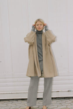 Penny Black shawl collar Mohair mix coat