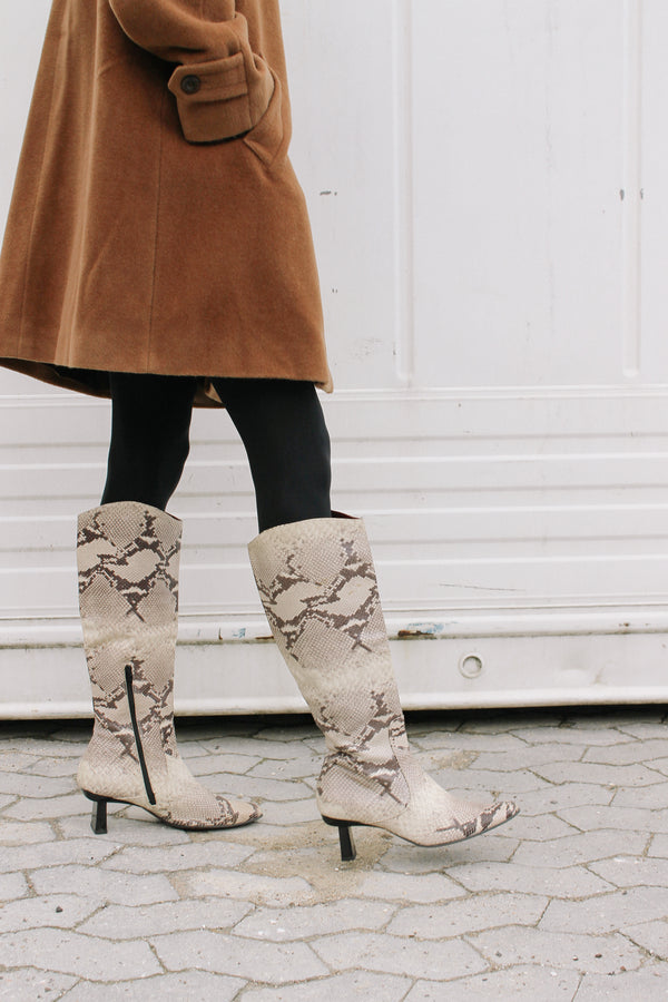 Gianfranco Ferré knee high boots