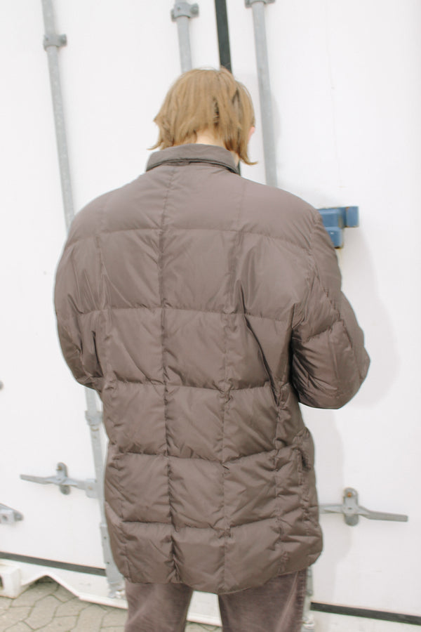 Aspesi brown padded jacket