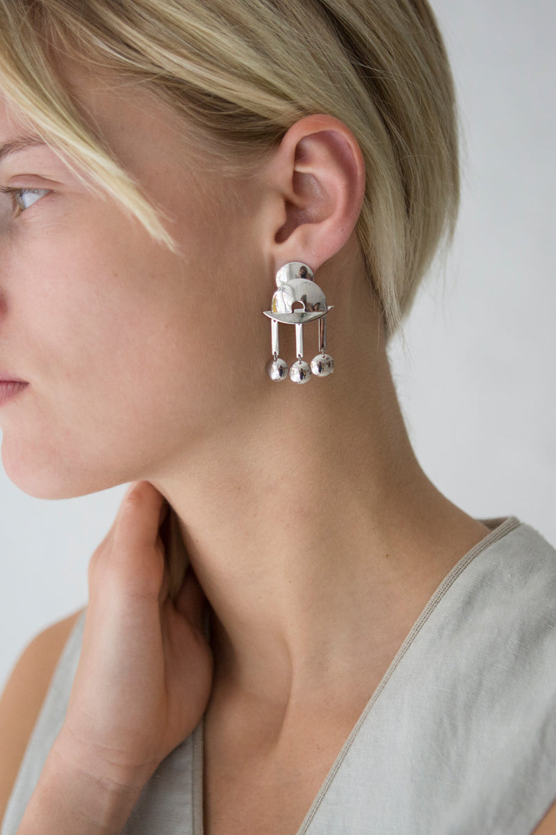 Lizzie Fortunato Temple Earrings - Studio Travel