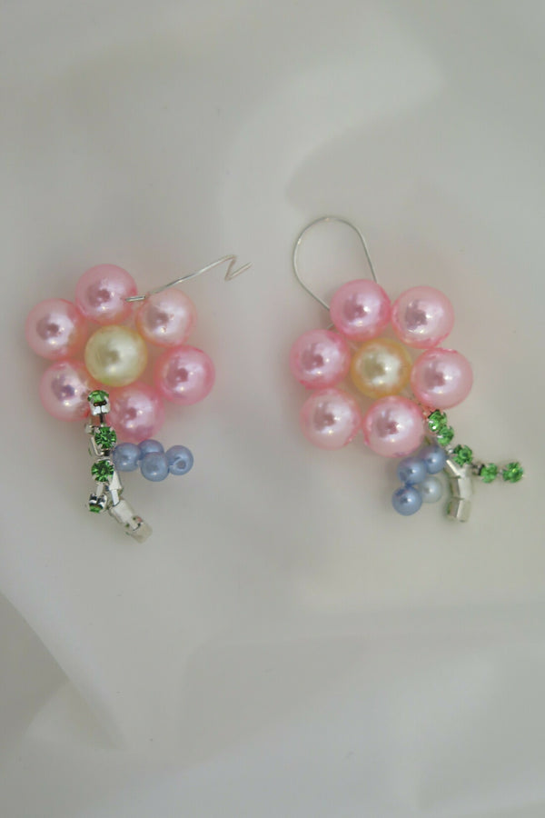 Rikke Sandbugt Flower Short Stam Earrings