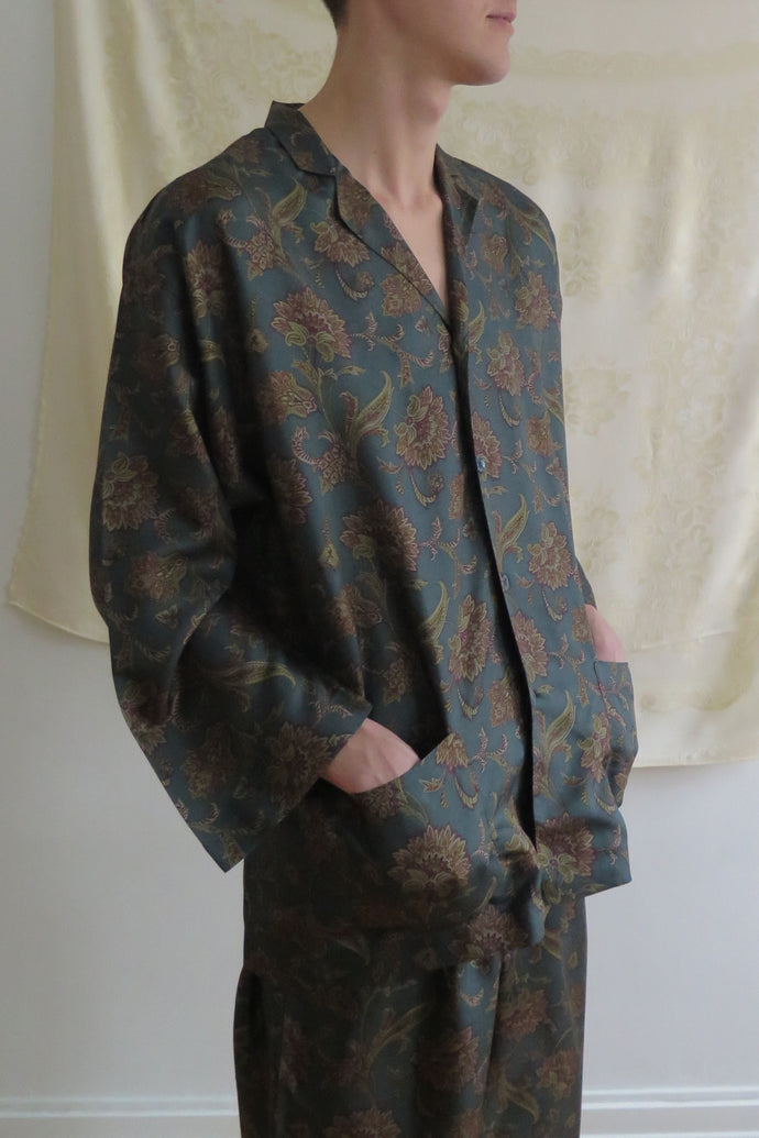 Vintage Silk Pajama Set - Studio Travel