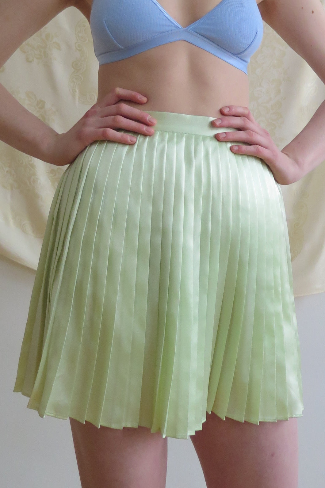 Vintage Pleated Mini Skirt - Studio Travel