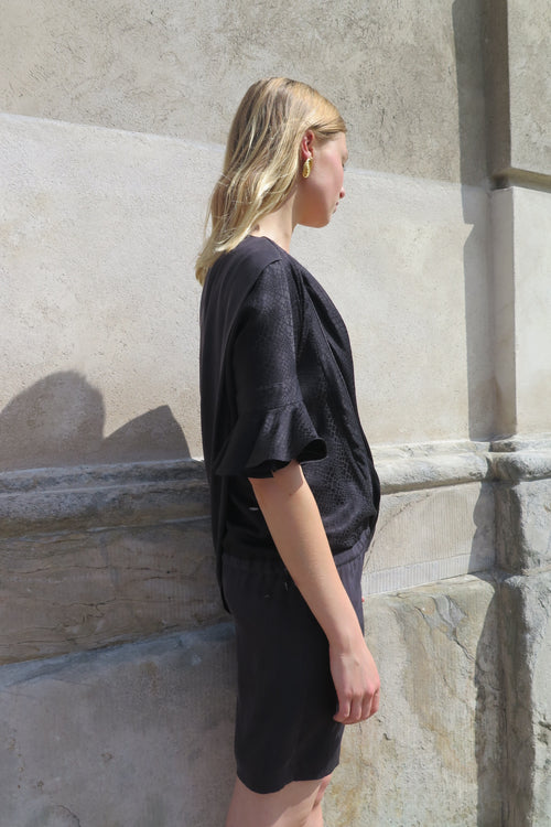 Balenciaga Black Silk Dress - Studio Travel