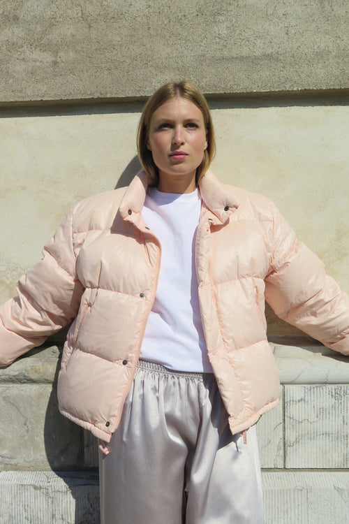 Moncler Pink Duvet Jacket - Studio Travel