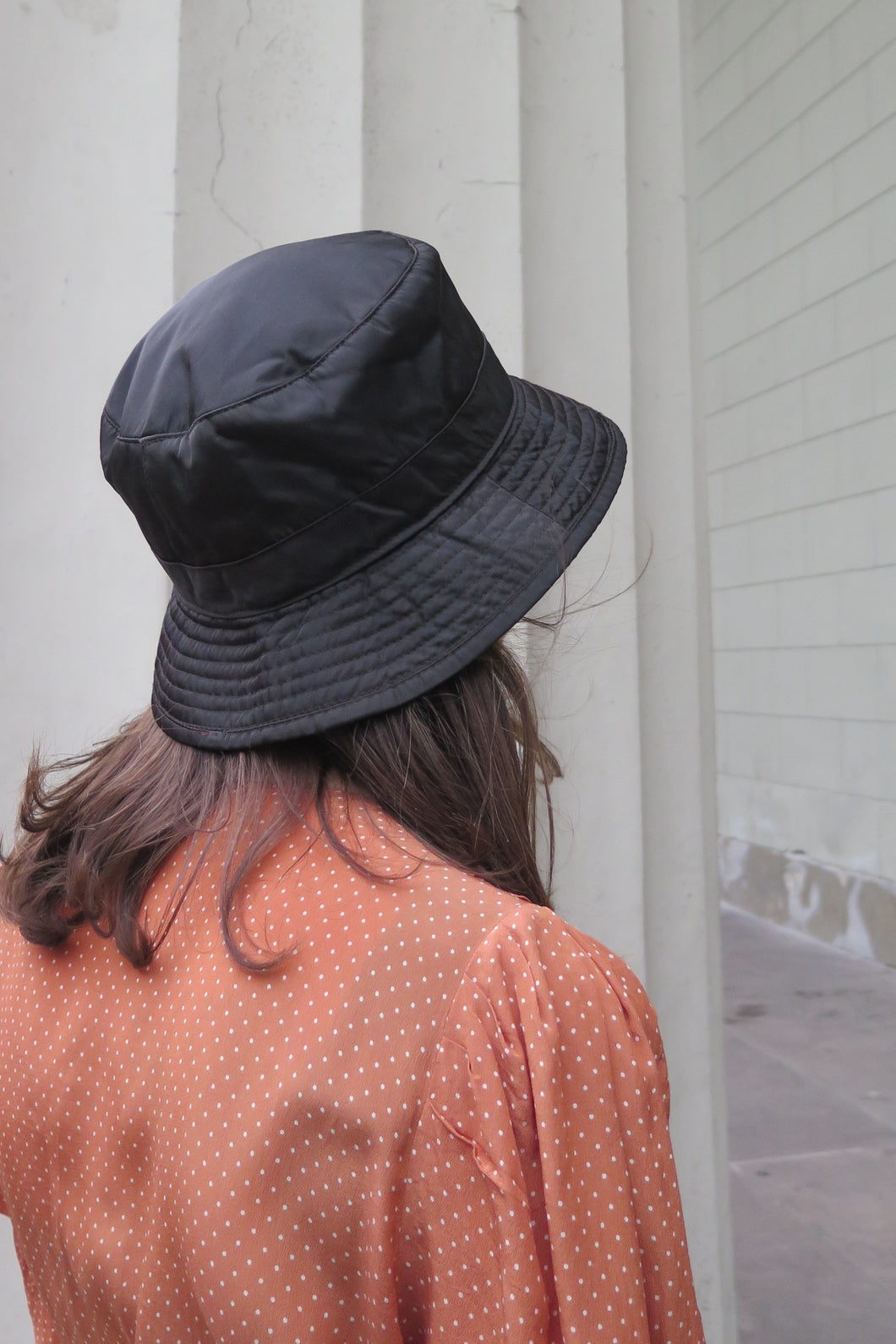 ... Prada Black Nylon Bucket Hat - Studio Travel ... 29a5d6fb859