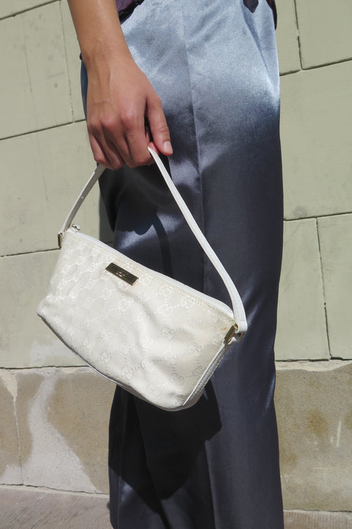 Gucci White Mini Handbag - Studio Travel