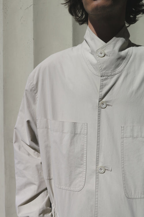 Gianfranco Ferré Ice White Cotton Jacket - Studio Travel