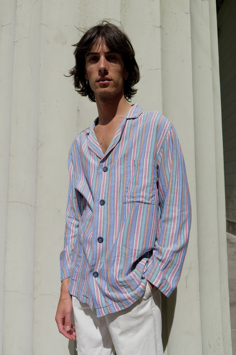 Missoni Striped Pajama Shirt - Studio Travel
