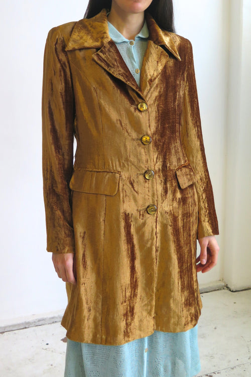 Luciano Pavarotti Velvet Coat - Studio Travel