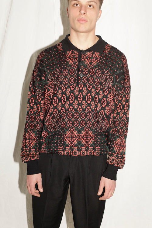 Trussardi Knitted Button Down Sweater