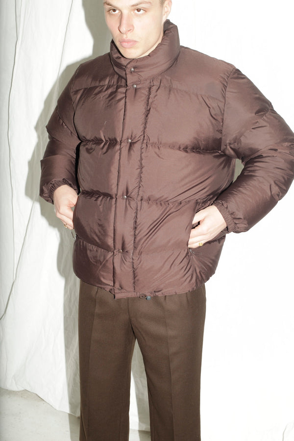Moncler Brown Duvet Jacket