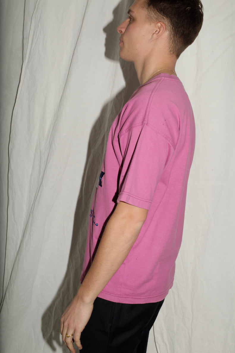 Jc de Castelbajac Pink Patches T-shirt