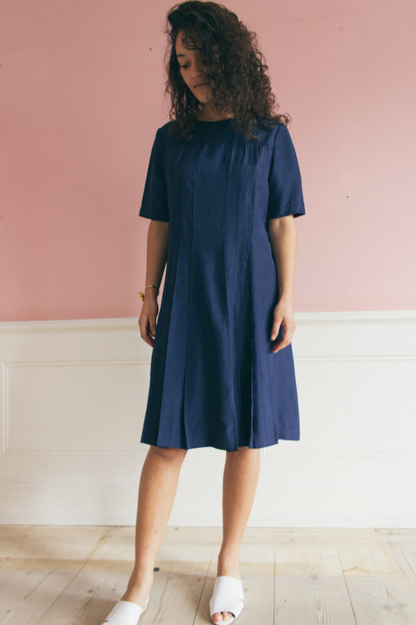 Pierre Cardin Navy Blue T-shirt Dress