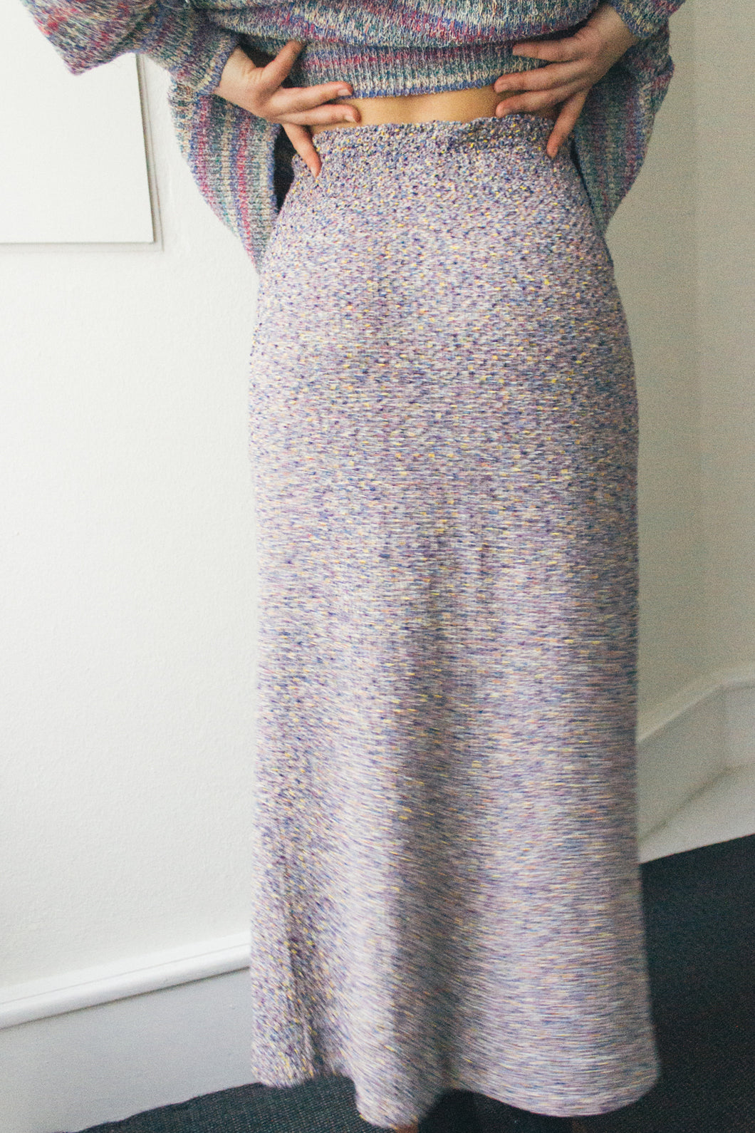 Missoni Knitted Long Skirt