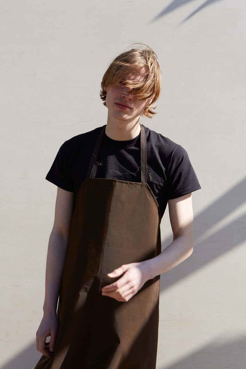 Unisex Brown Water Repellent Apron - Studio Travel