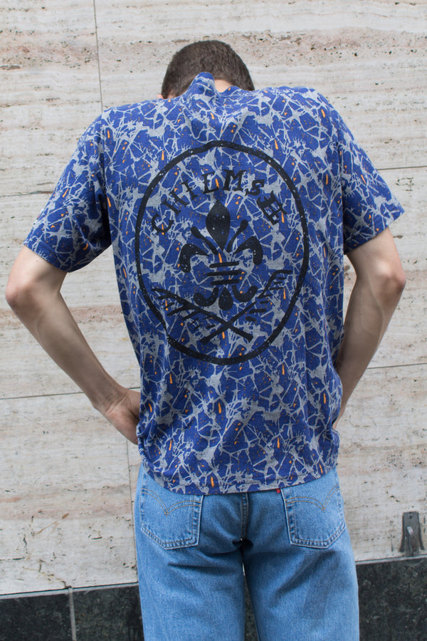 Printed Blue Chimsee T-shirt