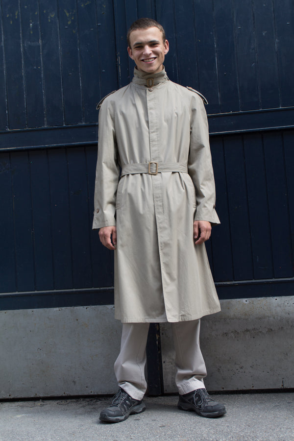 Sand Belted Trench Coat