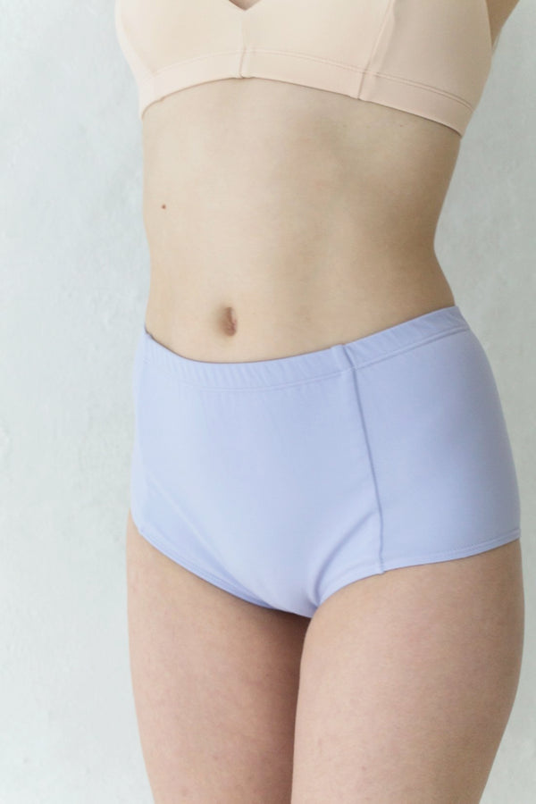 Lavender Highwaisted Bikini Brief