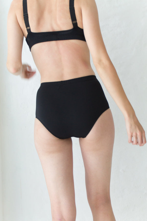Black Highwaisted Bikini Brief
