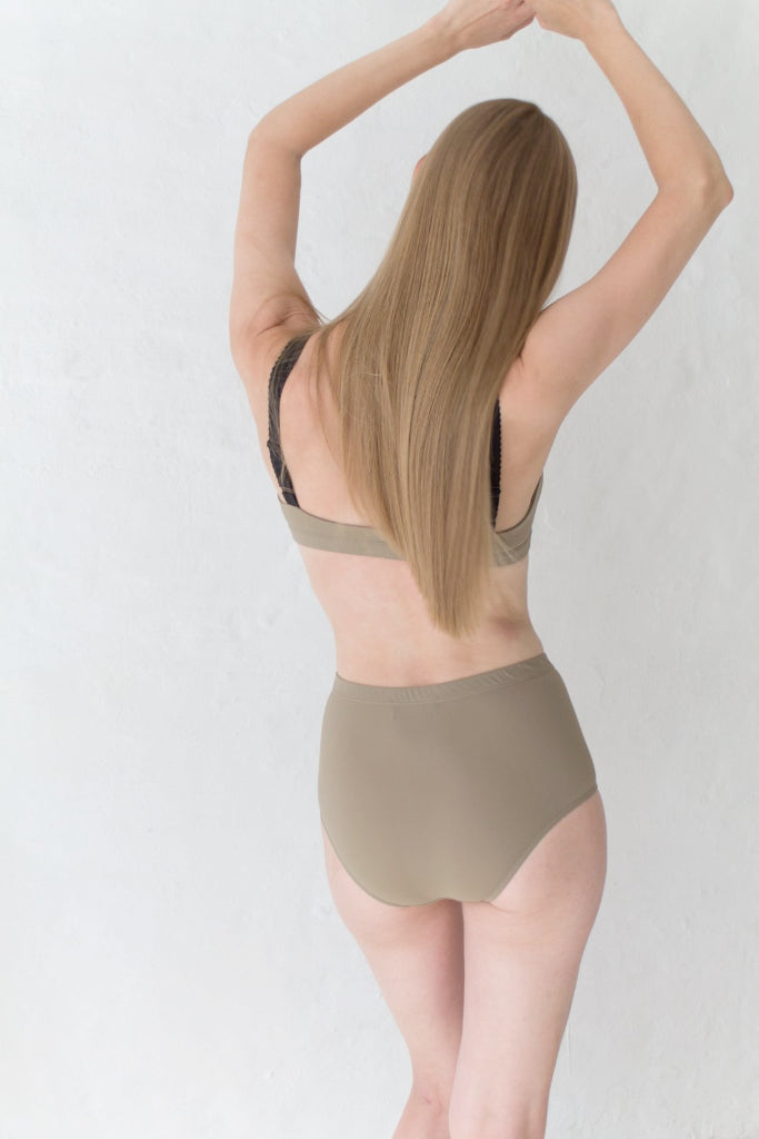 Sand Highwaisted Bikini Brief