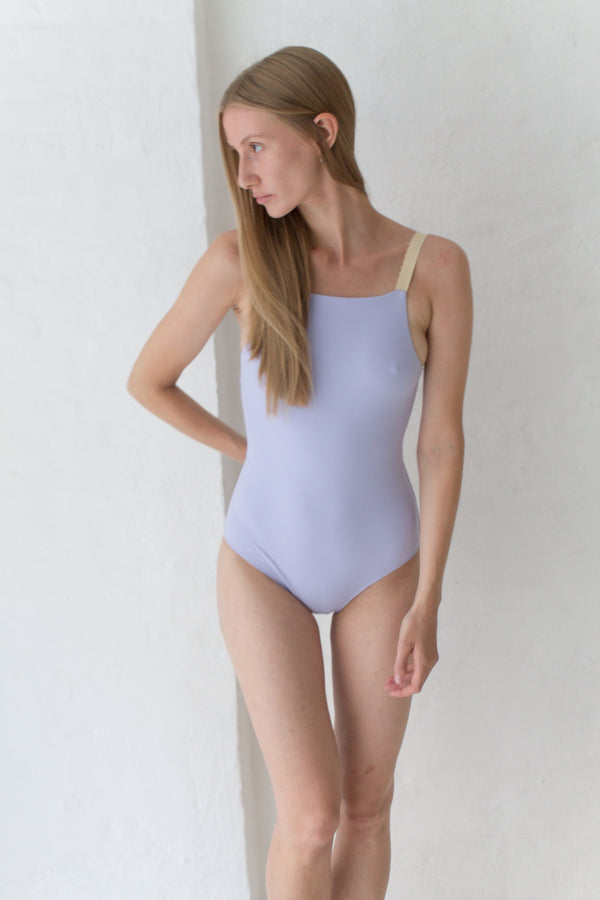 Lavender One-Piece Swimsuit