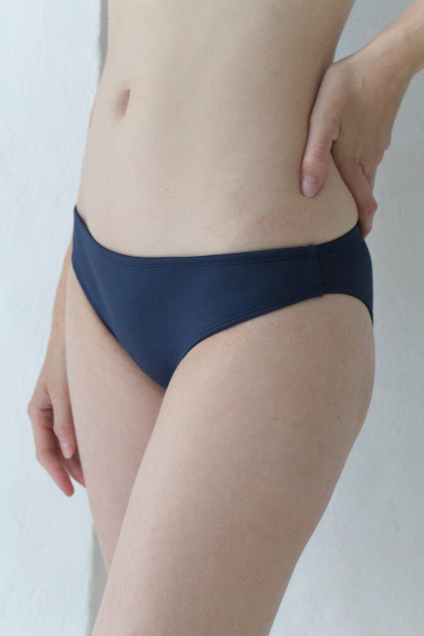 Navy Sporty Bikini Brief