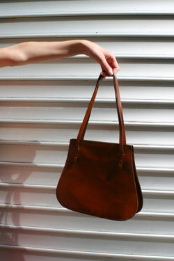 Blunauta Brown Leather Bag
