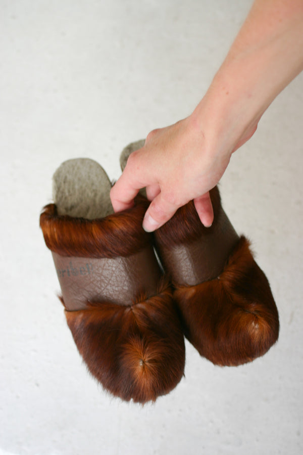 Pony Hair Clogs